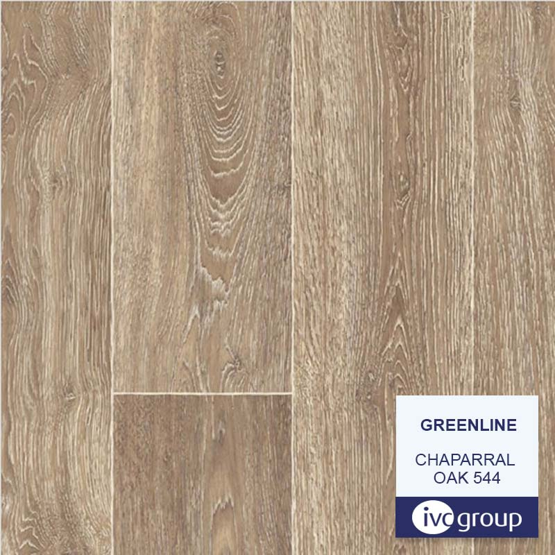 Линолеум GREENLINE 3,5м Chaparral Oak 544